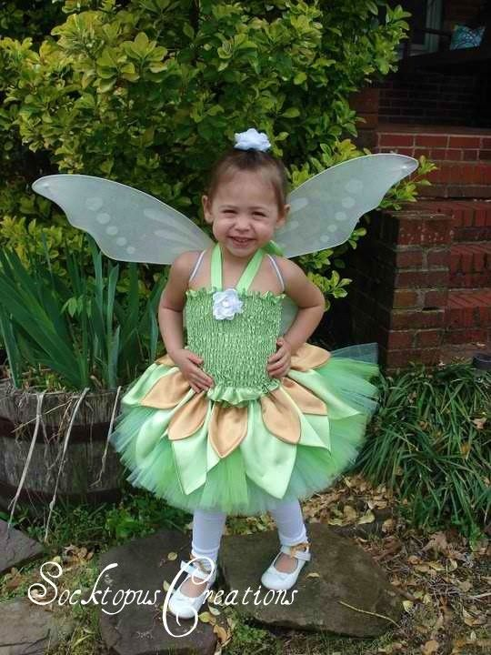 Tinkerbell costume - etsy  sc 1 st  Pinterest : halloween costumes tinkerbell  - Germanpascual.Com
