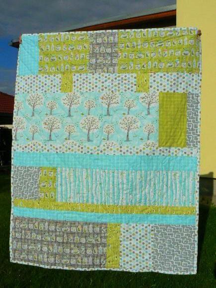Handmade By Monika Čermáková   Deka Pro Vítka   Kolekce Backyard Baby By  Patty Sloniger