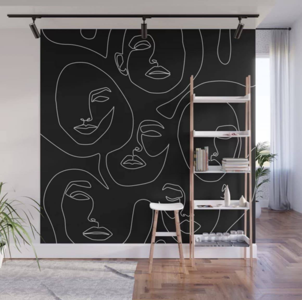 These Wall Murals Require Zero Artistic Skill Design