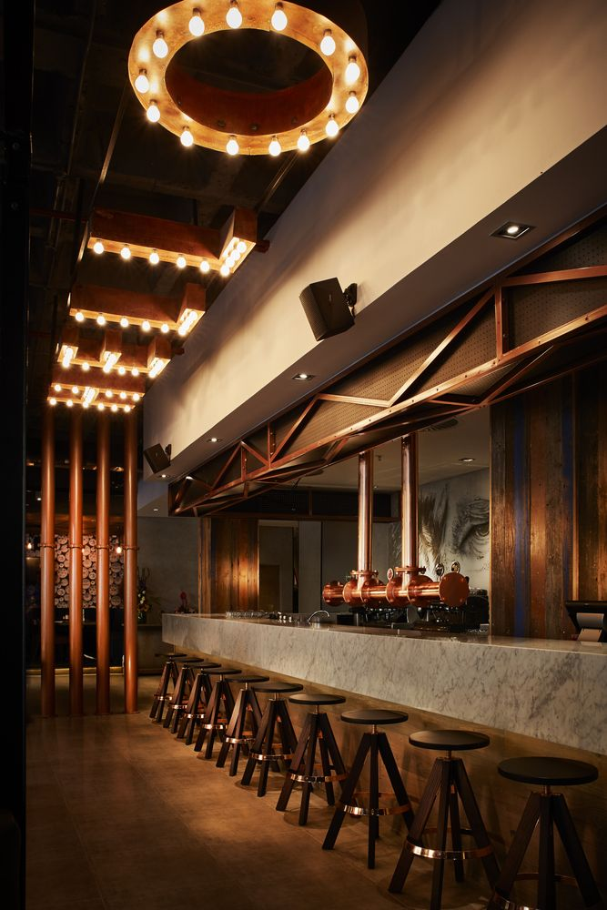 restaurant bar lighting. gallery of 2016 restaurant u0026 bar design awards announced 19 lighting