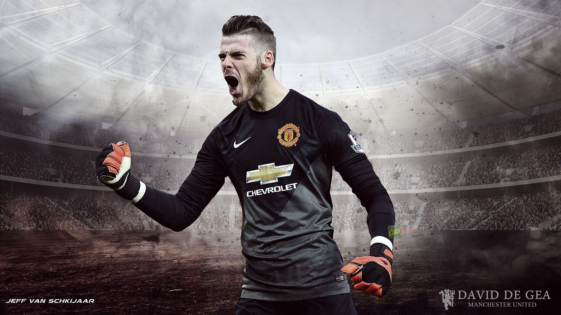David De Gea Manchester United Wallpaper