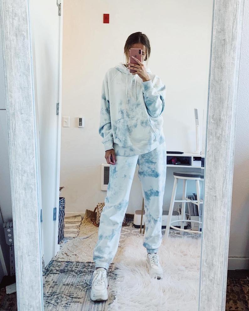 Hand Dyed Tie Dye Sweatpants Custom Loungewear Etsy Tie Dye Outfits Tie Dye Hoodie Sweatsuit