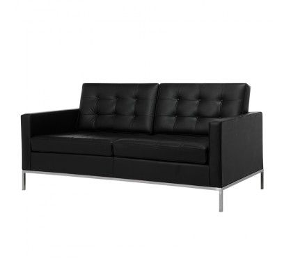 Replica Florence Knoll Sofa Leather 2 Seater Nood 1 439