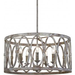 Feiss - F3222/5DA - Patrice Deep Abyss 5 Light Chandelier