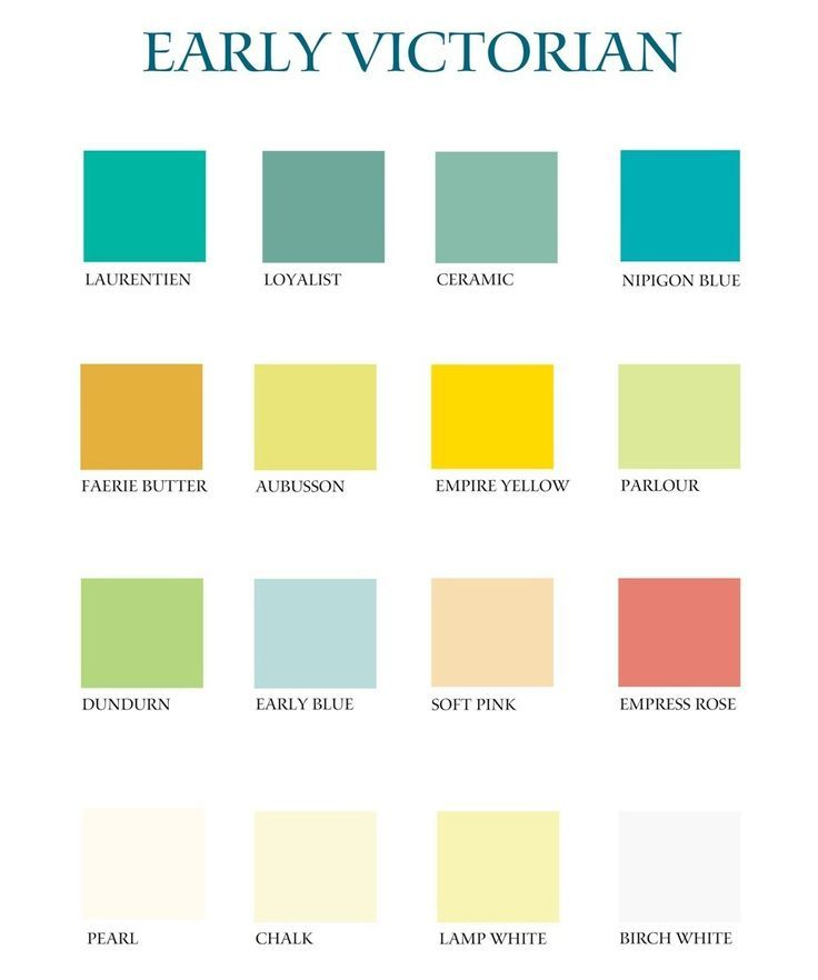 Victorian Color Palette Share Our Beauty Home