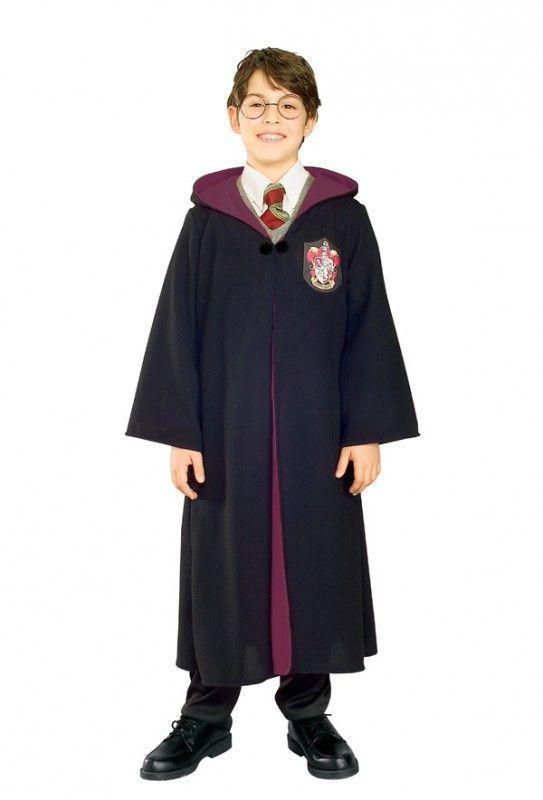 Harry Potter Costume Accessory Kit Wig /& Tattoo Boys Book Week Halloween Wizard