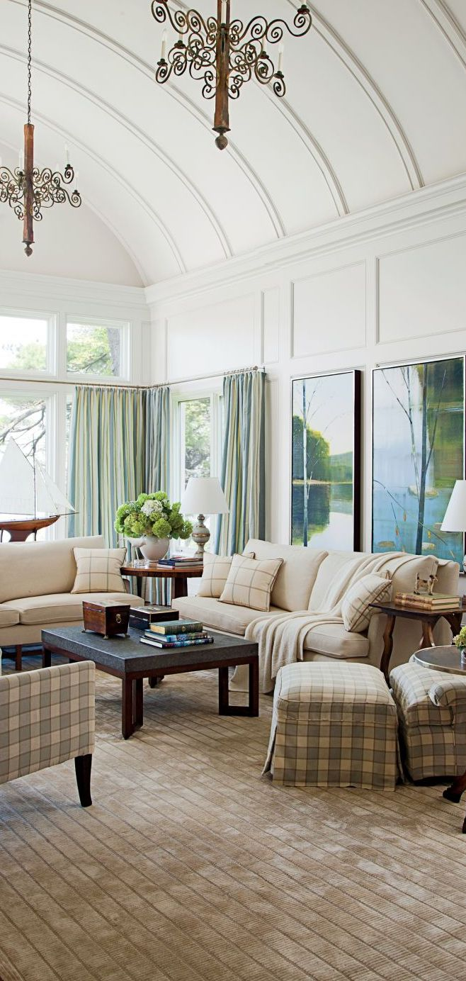 Traditional Living Room Design   Mariette Himes Gomez   Stunning ...