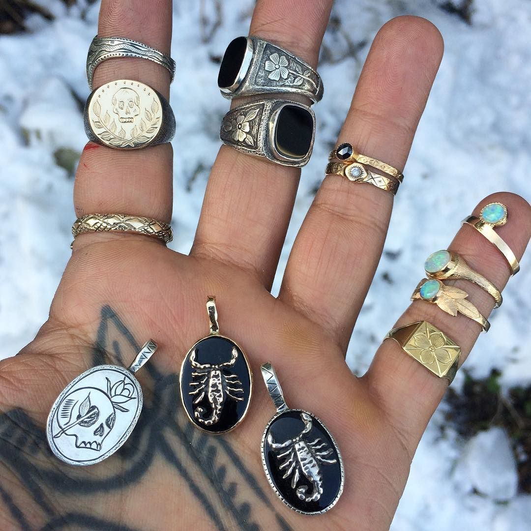 New silver and gold things coming to the webstore next week !  #juliocuellarhandmade #oneofakind