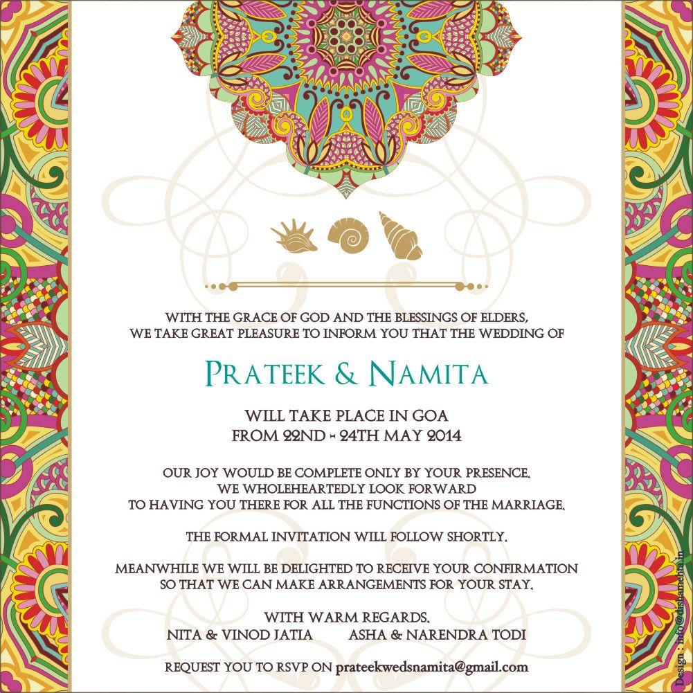 Wedding Logo Wedding Invitationscards Indian wedding cards – Customized Invitation Cards
