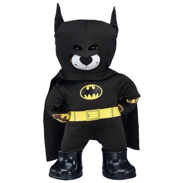 batman bear in batman costume build a bear workshop us. Black Bedroom Furniture Sets. Home Design Ideas