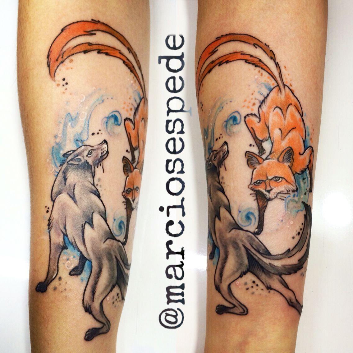O lobo e a raposa