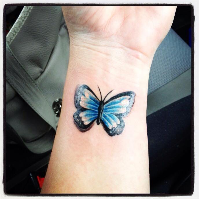 Butterfly Wrist Tattoo Tatoo Butterfly Tattoo Meaning Butterfly