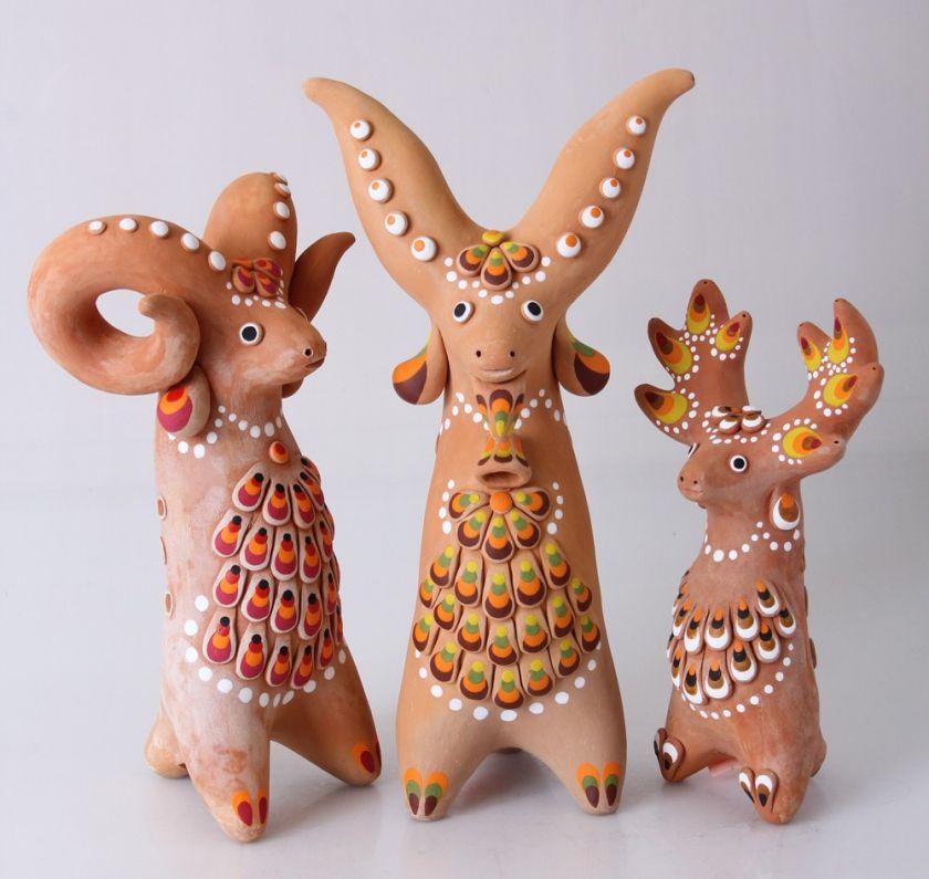 Картинки торжокской глиняной игрушки