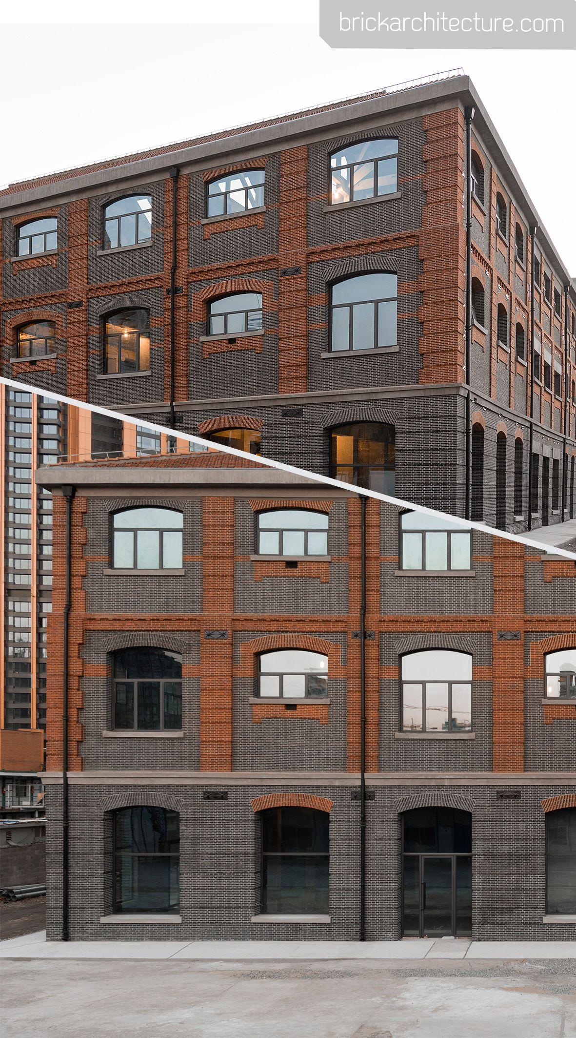 Xintai Warehouse Kokaistudios Urban Fabric Brick Architecture Hotel Exterior