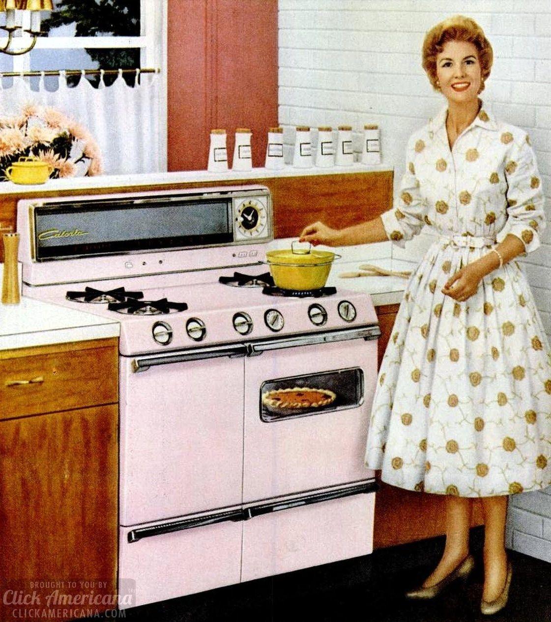 Retro Housewife Vintage