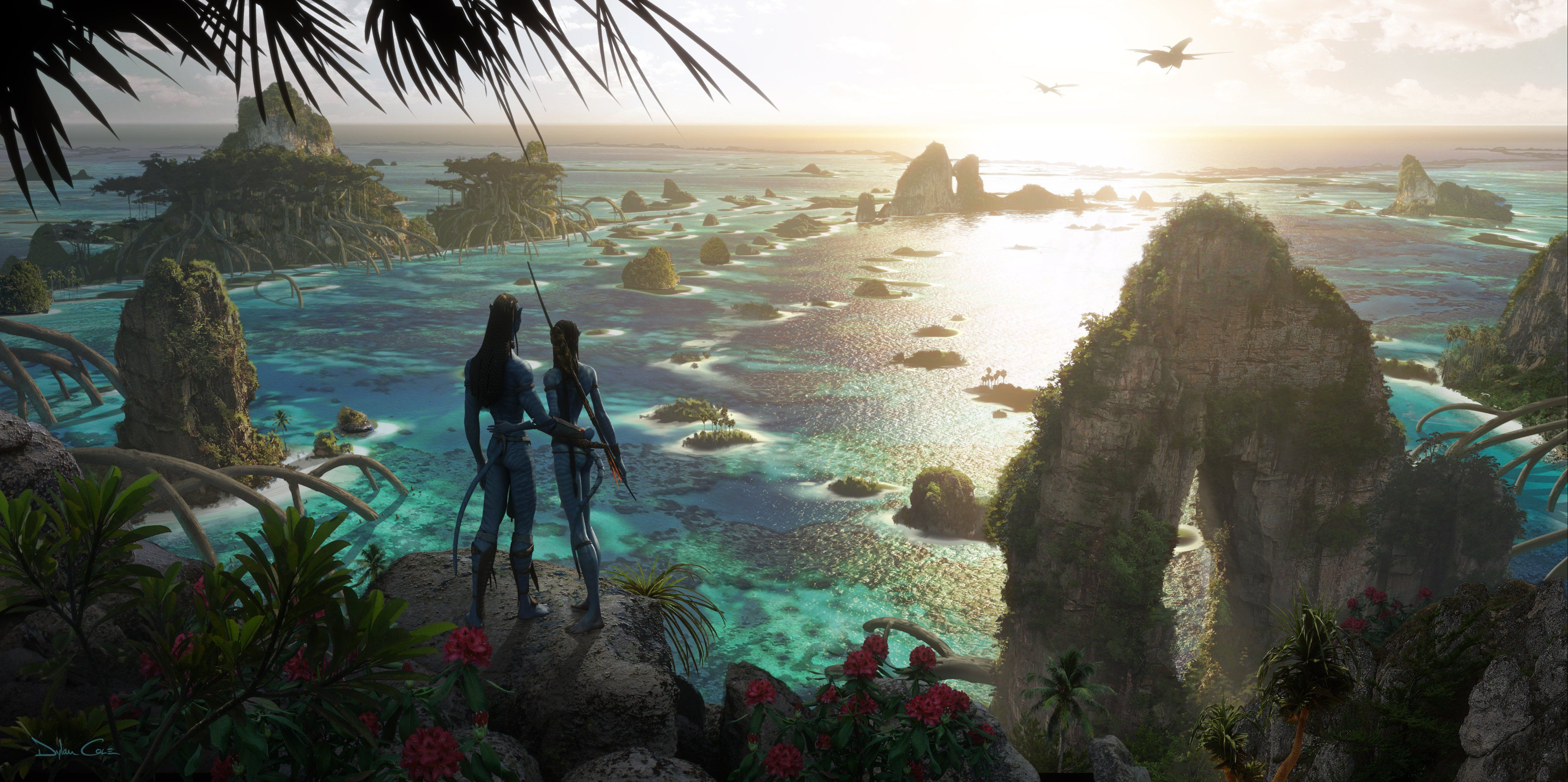 Avatar 2 Drops First Look At New Worlds Creatures Avatar Movie Concept Art Avatar James Cameron