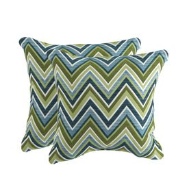 Sunbrella Set Of 2 Fischer Oasis Uv Protected Outdoor Decorative Pillows Lowes 30