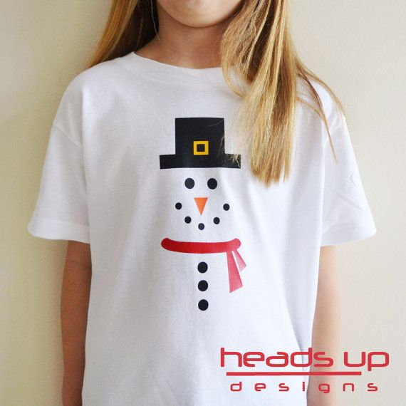 Snowman Christmas Kids T-Shirt