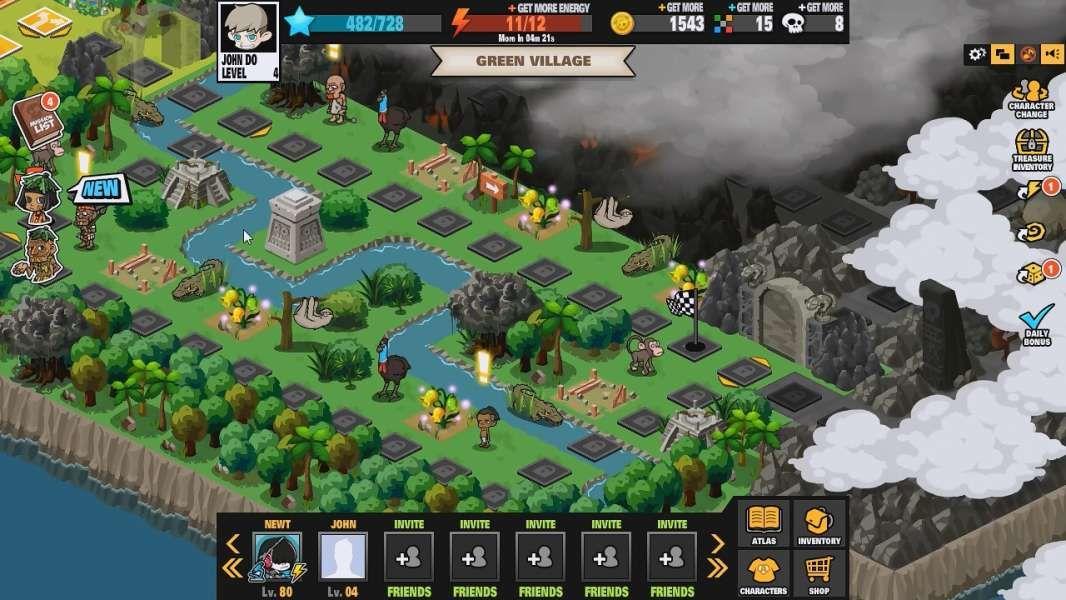 atlas game level Buscar con Google Mapas, Juegos