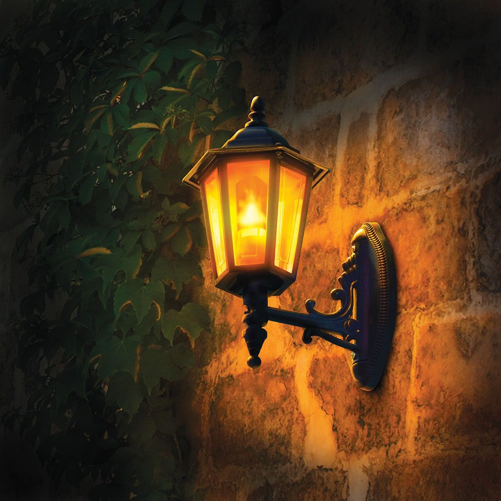 The Gas Flame Mimicking Light Bulb For 25 From Hammacher Schlemmer Outdoor Light Bulbs Light Bulb Bulb
