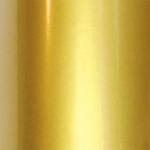 Shiny gold colored vinyl film