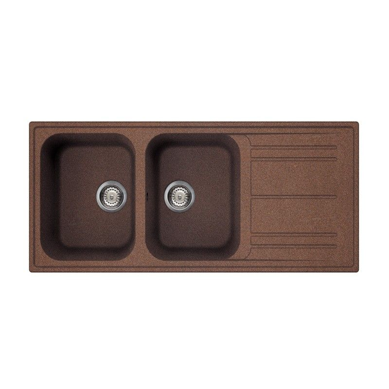 SMEG KITCHEN SINK LZ116RA RIGAE 2 BOWLS COPPER Smeg Home | Kitchen ...
