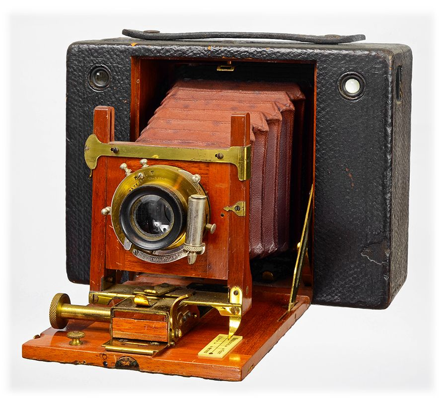 Camera Collection: Kodak No.4 Circa 1897