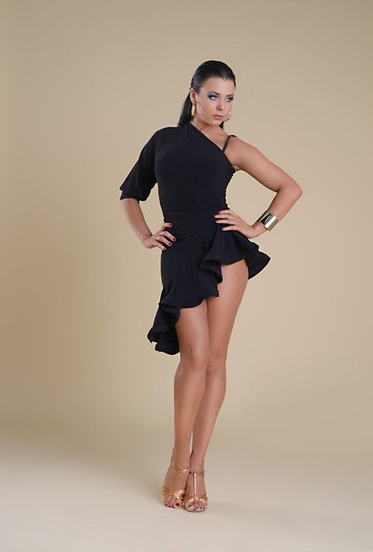 ea957dafba13 Lalafarjan latin practice wear Nice skirt shape, add bling and different  color