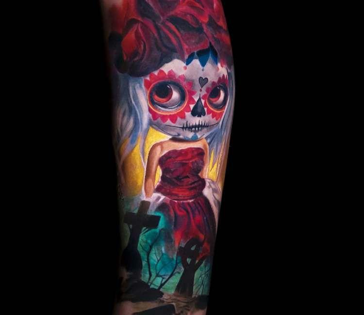 Catrina Tattoo By Nikolay Dzhangirov Best Tattoos Pinterest