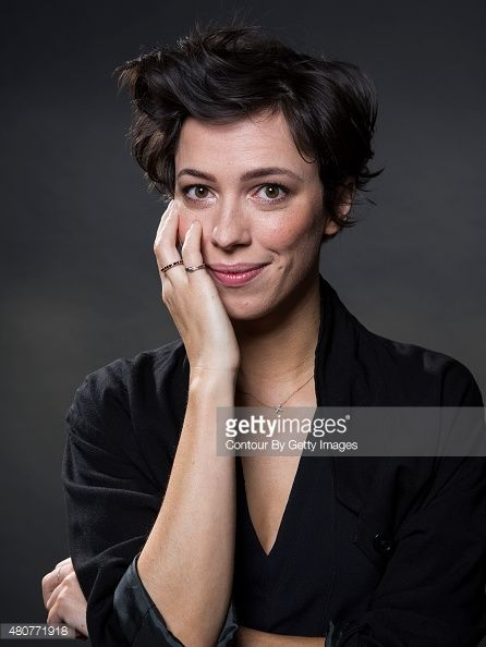 Rebecca Hall pixie hair cut