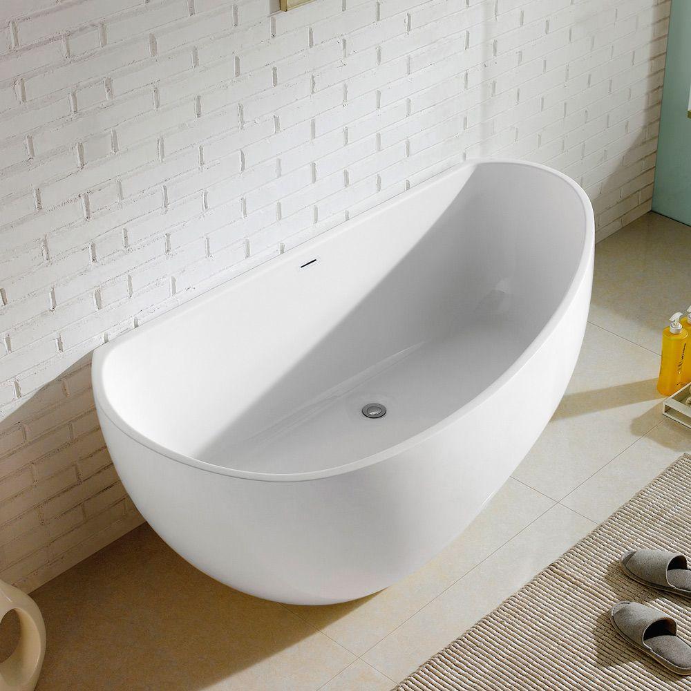 Steinkamp Loft Freistehende Badewanne Asymmetrisch Rechts 170 X 85 Cm St003asr Megabad Badewanne Freistehende Badewanne Wanne