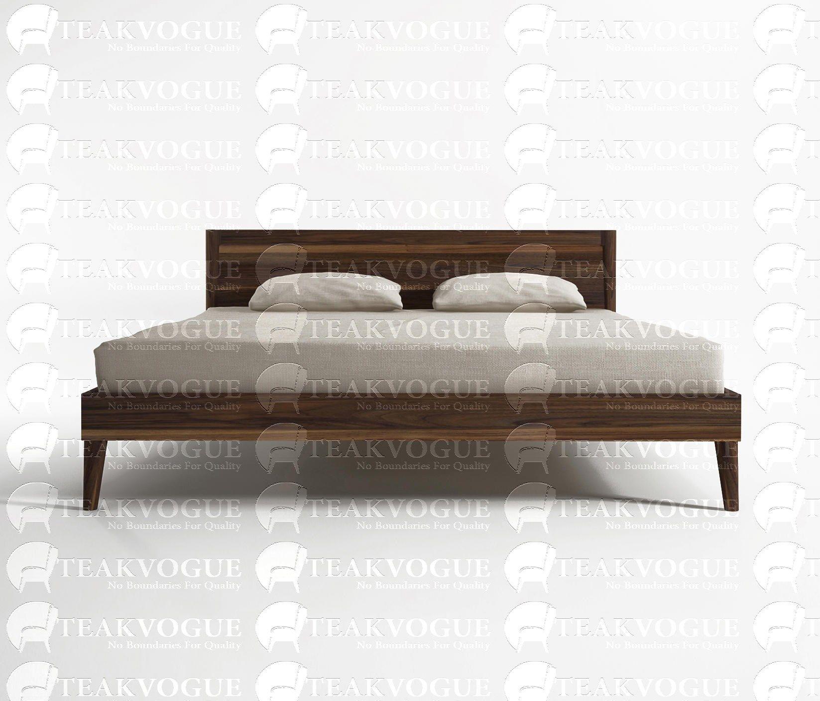 Ashikaga King Size Bed Teak Wood Bed Frames Malaysia King Size