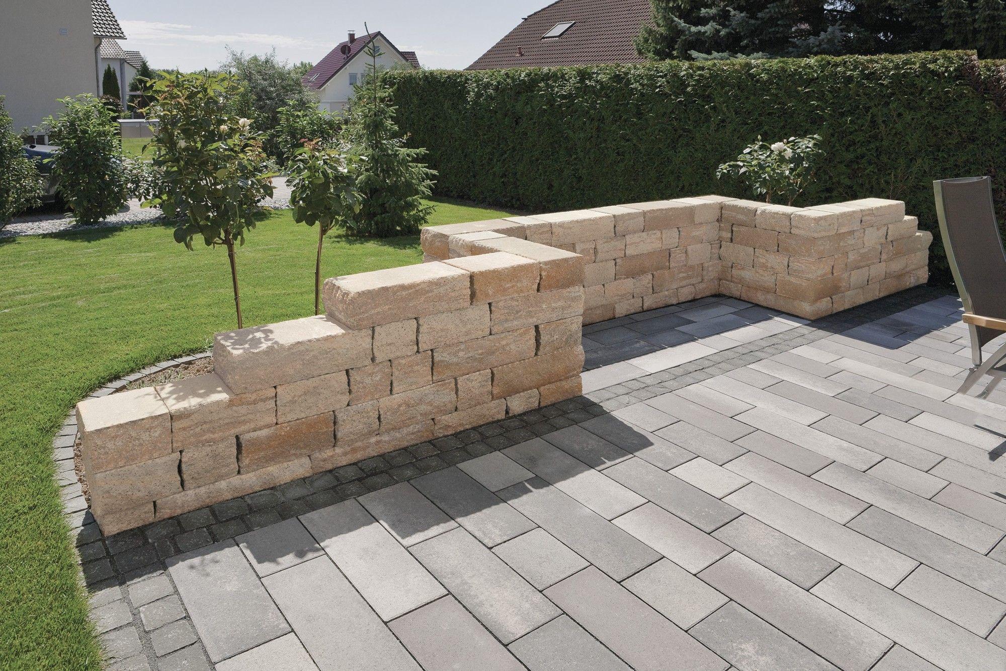 Toskana Mauer von Rinn Betonsteine und Natursteine ...