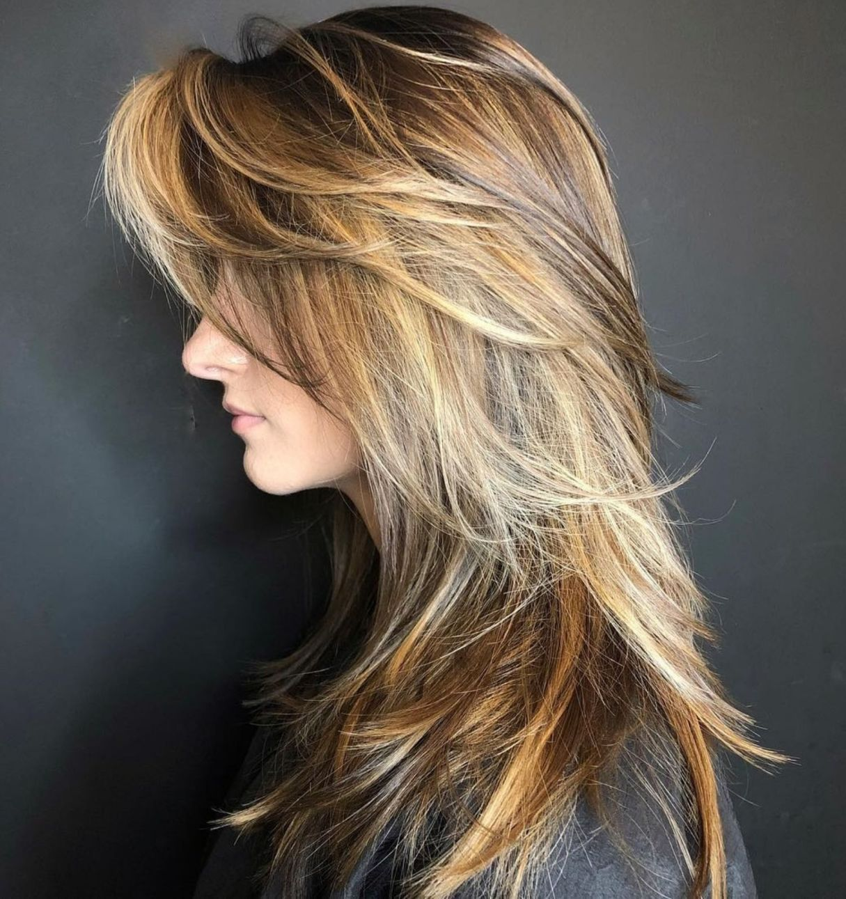 20+ Hairstyles Long Layers Bangs in 2020 | Long layered haircuts, Layered  hair with bangs, Thick hair styles