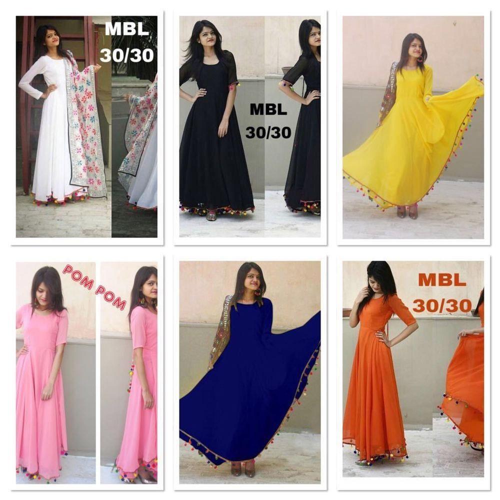 3edbe945f3 Anarkali Indian Bollywood Designer Salwar Kameez Pakistani Dress Indian POM  Suit #Unbranded #AnarkaliDress