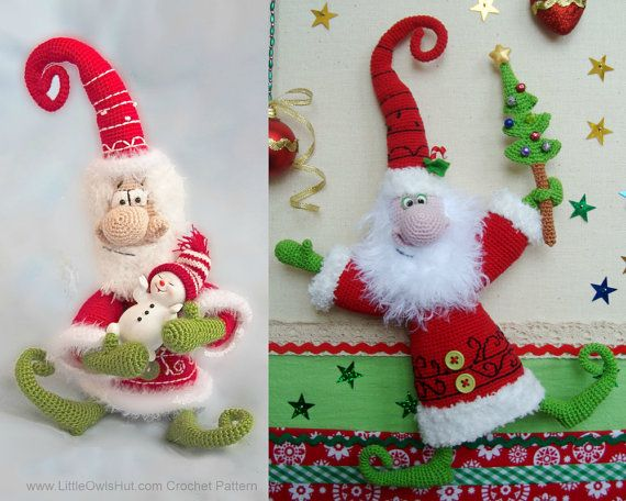 036 Santa Claus Father Frost Father Christmas Crochet Pattern