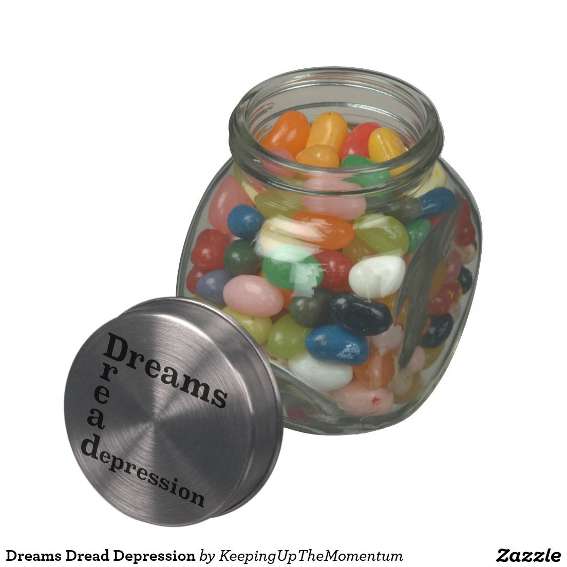 Dreams Dread Depression Glass Candy Jars
