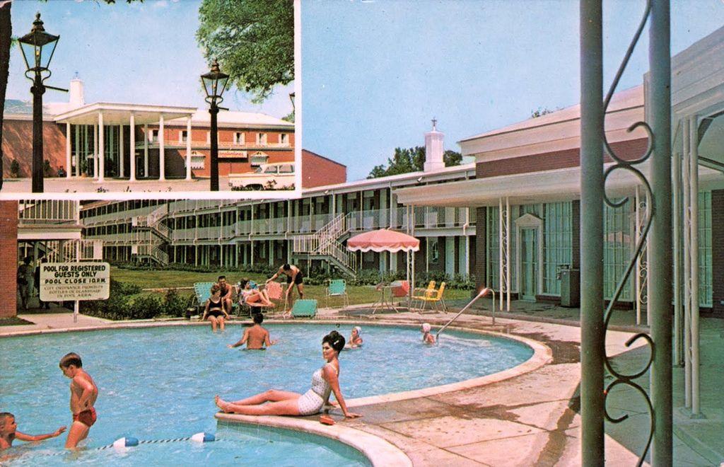 Ramada Inn Mobile Alabama Century Hotel Vintage Hotels Ramada