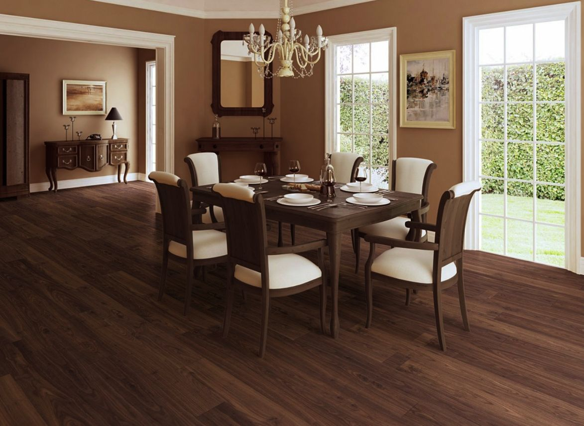 Dark Walnut Gray Hardwood FloorsWooden