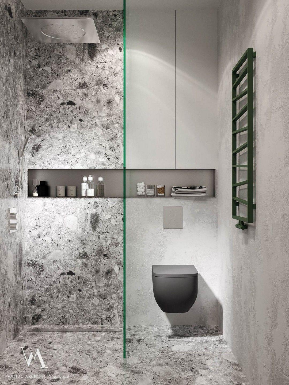 Green Decor Schemes That Help You Feel Closer To Nature Minimalist Bathroom Design Bathroom Interior Design Minimalist Bathroom Minimalist green bathroom interior