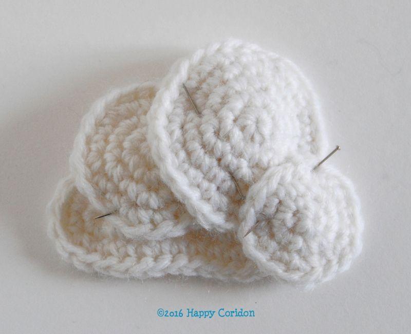 Tiny Rainbow Mobile crochet pattern by Happy Coridon   bebe ...