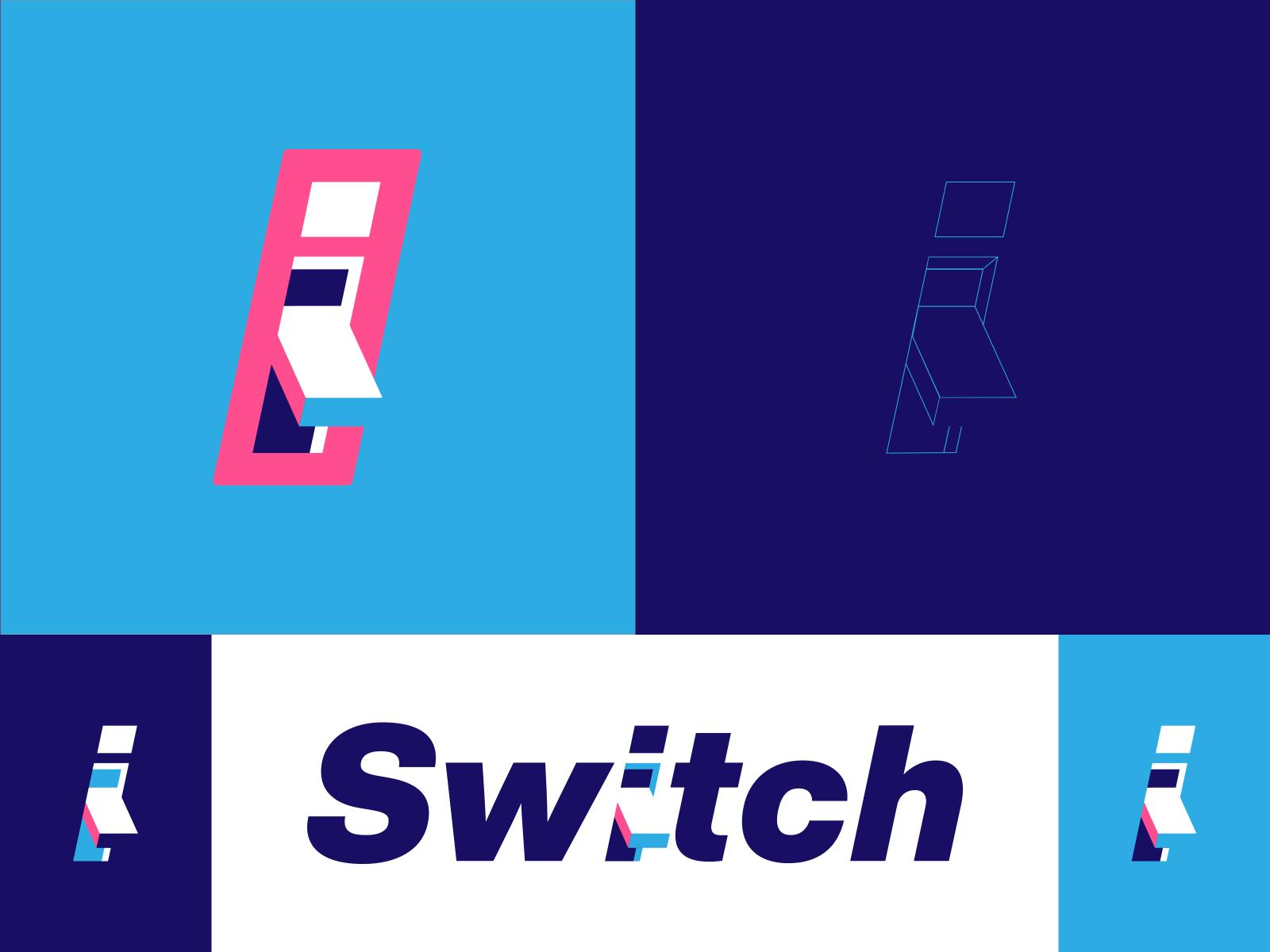 Switch App Brand Identity Design Icon Design Brand Identity Design Identity Design Icon Design