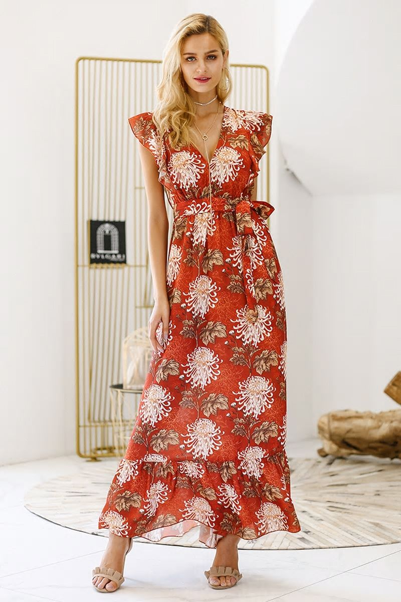 9d952f93183 Isabelle Maxi Print Dress  62 AUD Free Shipping Worldwide