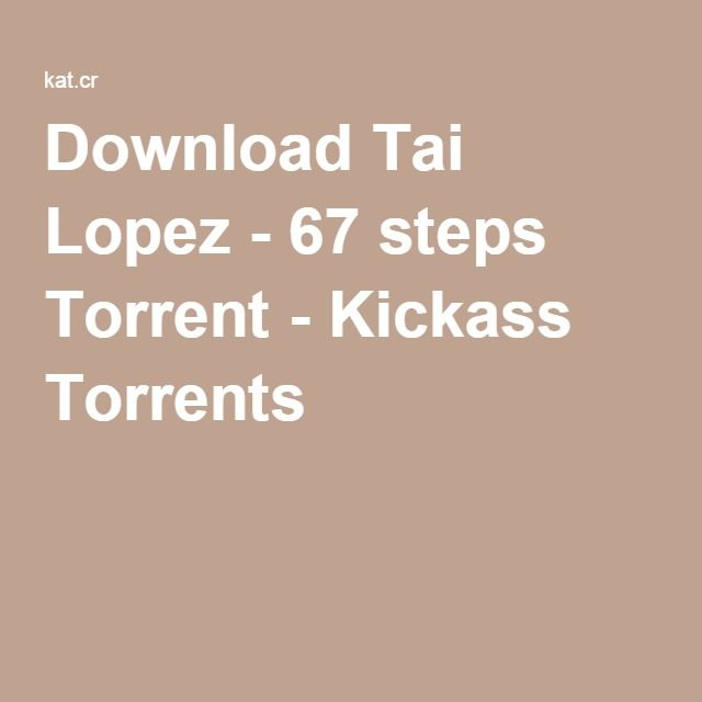 Download tai lopez 67 steps torrent kickass torrents framgng download tai lopez 67 steps torrent kickass torrents ccuart Choice Image