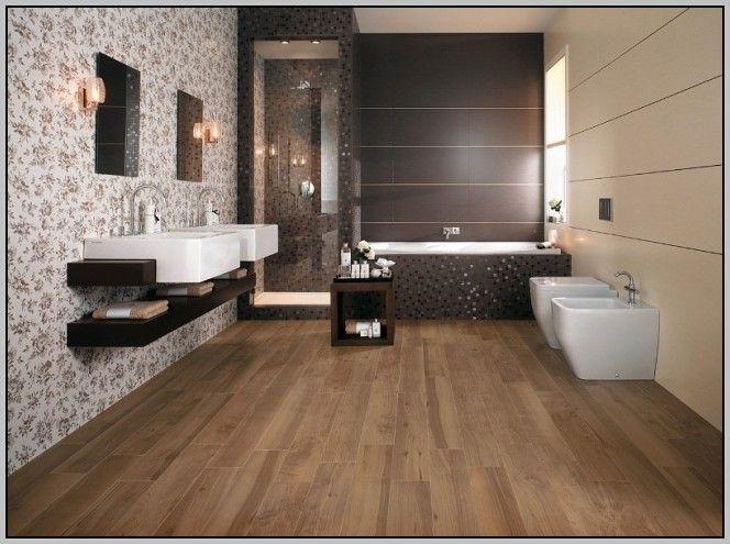 Bildergebnis für fliesen holzoptik bad Badezimmer Pinterest - fliesen im badezimmer