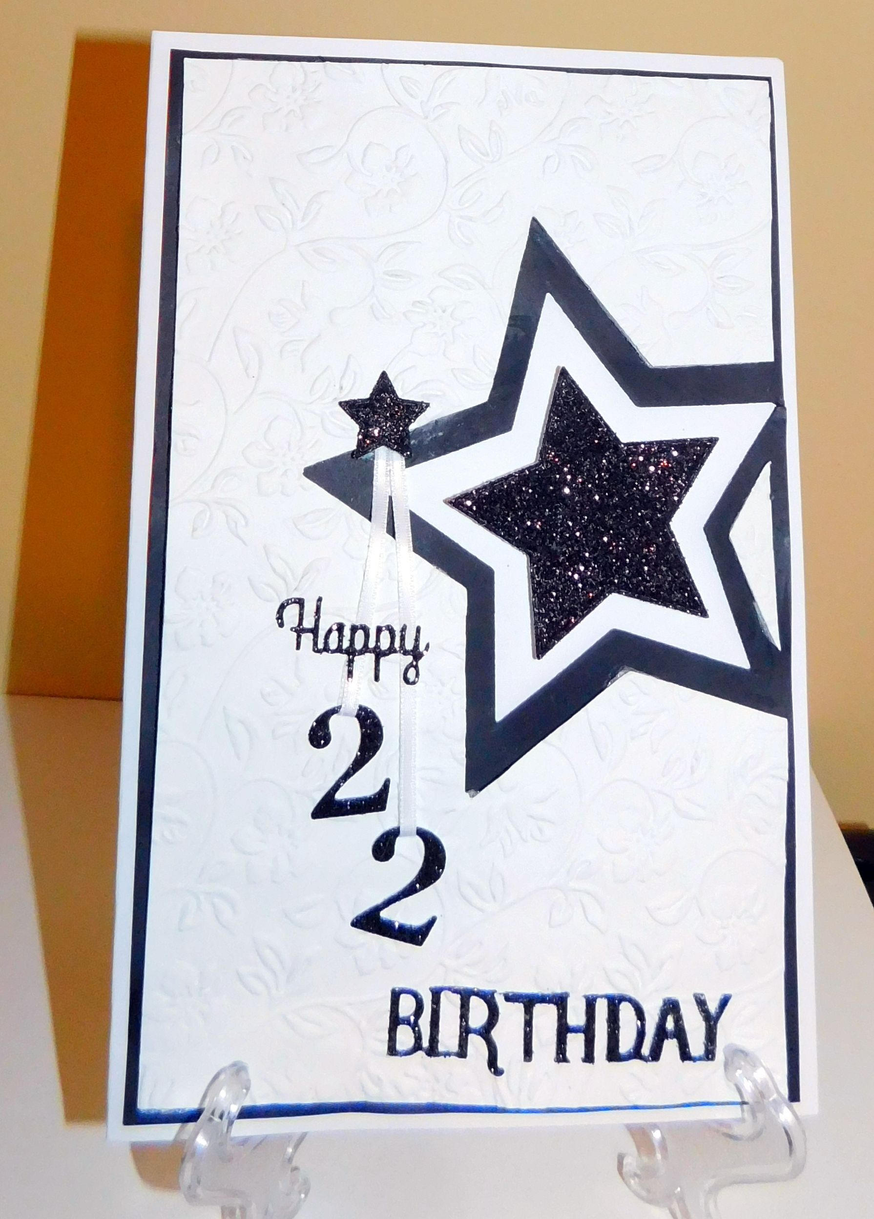 Happy Birthday 22 Year Old Cards Years