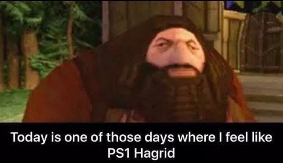 Harry Potter 10 Hilarious Hagrid Logic Memes That Are Too Funny It S Pretty Rare To Find A Character Wh Most Hilarious Memes Funny Dating Memes Logic Memes