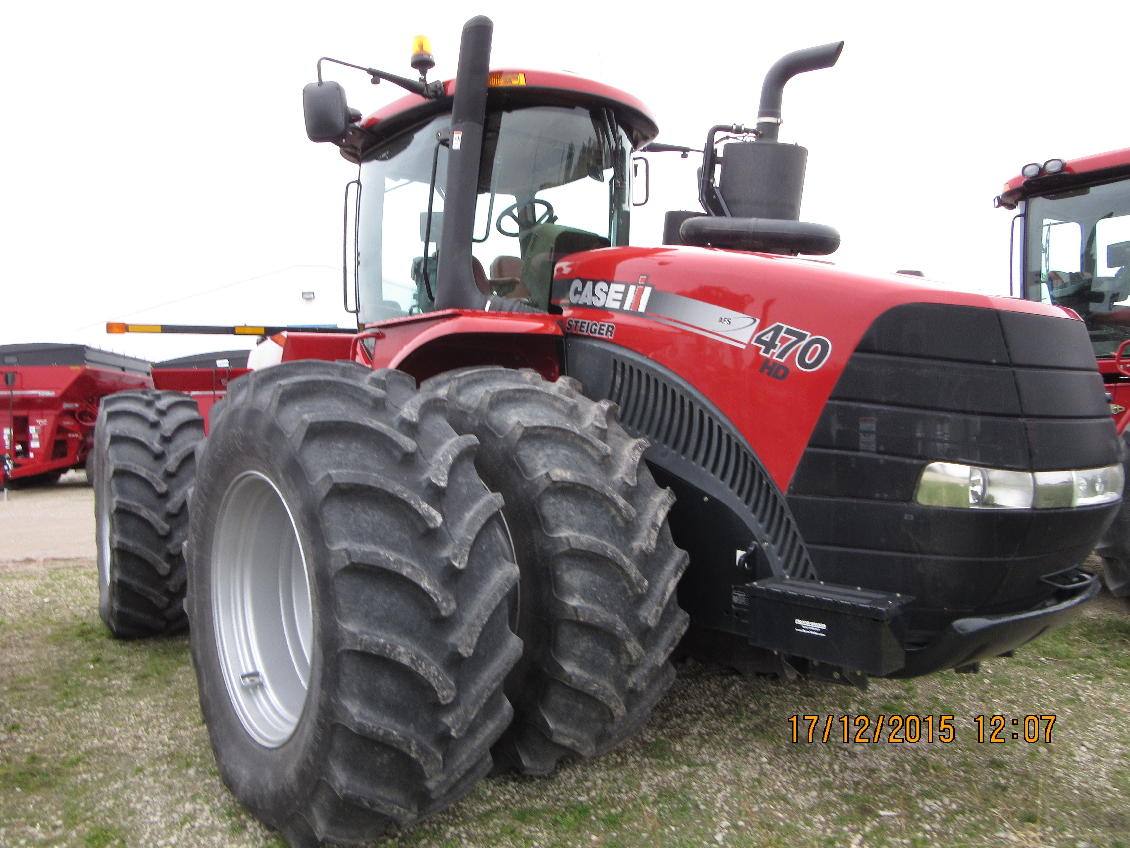 Caseih steiger 470 international harvester tractors