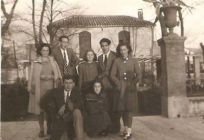 fotografías relativas a las familias de Cabra de Córdoba