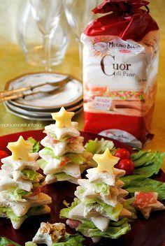 Antipasti Alberelli Di Natale.Alberelli Di Pancarre Farciti Ricetta Antipasti Natalizi Food